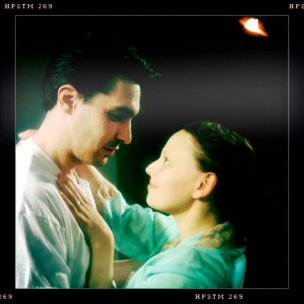 David Marcus and Eve Udesky in Libby Emmons' Connie in Detroit, directed by Ali Ayala