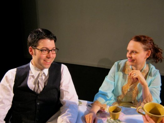 Ari Vigoda and Eve Udesky in Libby Emmons' Connie in Detroit, directed by Ali Ayala