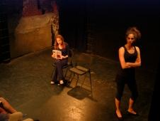 Samantha Debiki and Carmel Amit in Suzan-Lori Parks' 365 Days/365 Plays