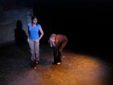 Tania Sen and Samantha Debicki in Suzan-Lori Parks' 365 Days/365 Plays