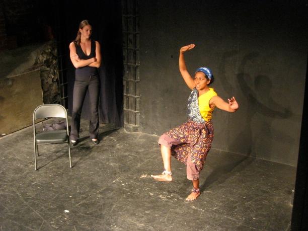 Karen Sours and Indika Senanayake in Suzan-Lori Parks' 365 Days/365 Plays