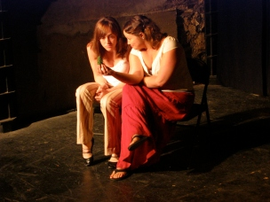 Cara Francis and Stacey McMath in Suzan-Lori Parks' 365 Days/365 Plays
