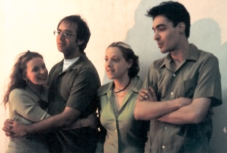 Trisha Ward, David Walinsky, Kisa Charles, and David Marcus in Libby Emmons' Impenetrable, directed by David Marcus